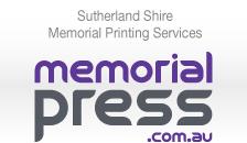 Memorial Press - Sutherland Shire Memorial Printing Services